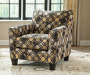 Keenum Accent Chair Angled Room View
