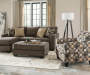 Keenum Living Room Collection with Accent Chair Ottoman and Sofa Chaise Room View