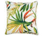 Key West Tropical Outdoor Throw Pillow 17in x 17in silo front