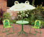 Kiddy Frog 4-Piece Bistro Set