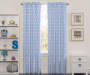 Kids Blue Cloud Blackout Single Curtain Panel 63 inches Lifestyle