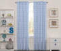 Kids Blue Cloud Blackout Single Curtain Panel 84 inches Lifestyle