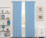 Kids Blue Starlight Blackout Single Curtain Panel 63 inches Lifestyle