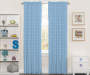 Kids Blue Starlight Blackout Single Curtain Panel 84 inches Lifestyle