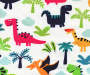 Kids Dino Jams Blackout Single Curtain Panel 84 inches Swatch