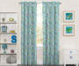 Kids Mermaid Party Blackout Single Curtain Panel 63 inches Lifestyle