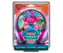 Kids Poppy Satin and Chenille Headphones silo front package