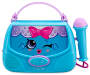 Kids Sing Along Handbag Boombox with Microphone silo front