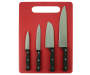 Knife and Cutting Board 5 Piece Set silo front