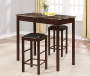 Knox Faux Stone 3 Piece Pub Table Set lifestyle