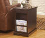 LAFLORN SABLE CHAIRSIDE END TABLE
