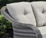 LAKEWOOD ALL WEATHER WICKER THREE SEAT SOFA