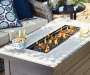 LAKEWOOD RECTANGULAR FIREPIT TABLE