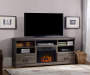 LAVEN MEDIA OAK FIREPLACE