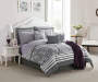 LC 12PC BIAB KING ANGELINA GREY/PLUM