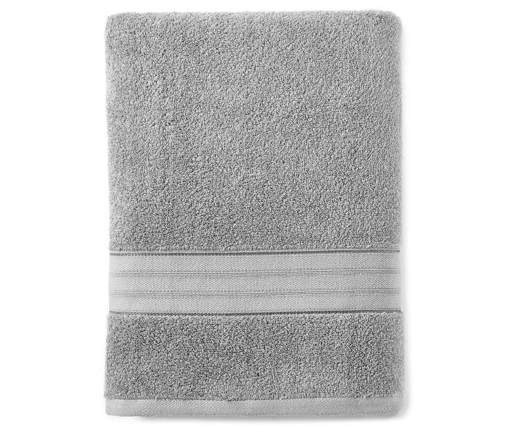 LC BATH TOWEL MONUMENT GREY