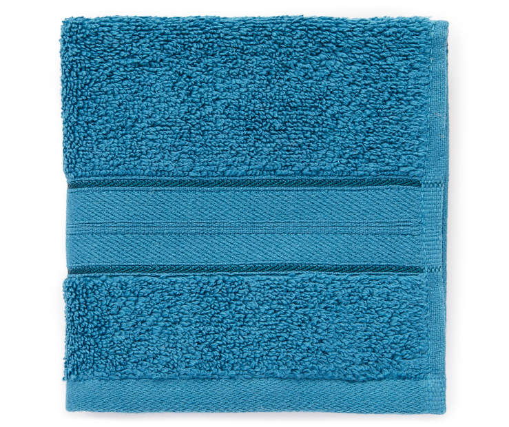 LC WASH TOWEL BLUE CORAL