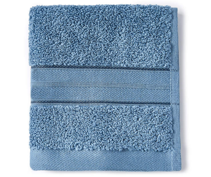 LC WASH TOWEL CORONET BLUE
