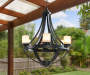LED Candle Hanging Battery Operated Chandelier lifestyle