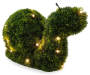 LED Snail Artificial Topiary 11 inch silo angled