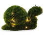 LED Snail Artificial Topiary 11 inch silo front
