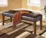Lacey Brown Dining Bench