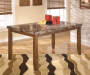 Lacey Marble Top Dining Table lifestyle
