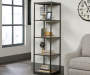 Lane Brown Tower 4 Shelf Bookcase lifestyle