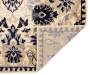 Lani Traditional Floral Accent and Area 2 Piece Rug Set silo front corner flip