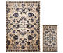 Lani Traditional Floral Accent and Area 2 Piece Rug Set silo front