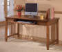 Large Cross Island Brown Desk lifestyle