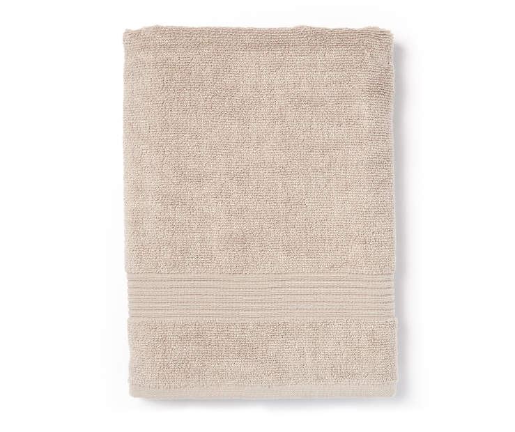 Latte Tan Bath Towel Silo