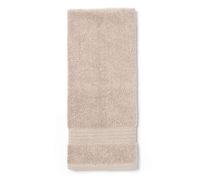 Latte Tan Hand Towel Silo