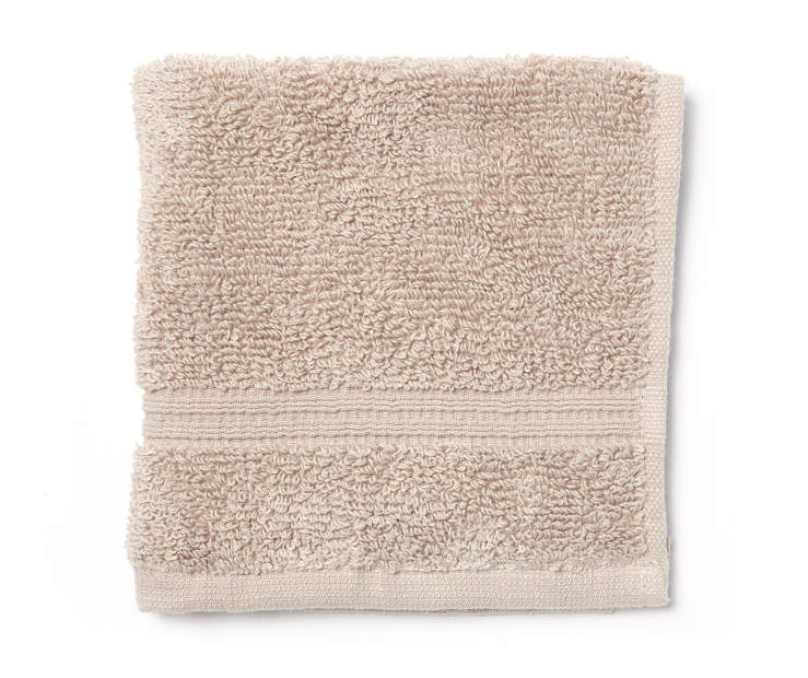 Latte Tan Wash Cloth Silo
