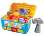 Laugh and Learn Smart Stages Toolbox Front View with Accessories Out of Package Silo Image