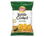Lay's Kettle Cooked Jalapeno Potato Chips 8 Ounce Bag