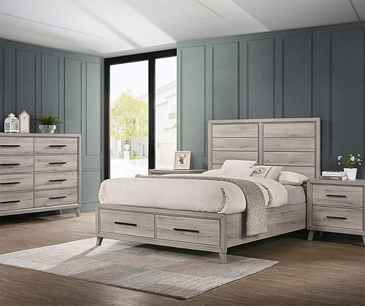 new products e1f56 a07e5 Lennon Queen Bedroom Furniture Collection | Big Lots