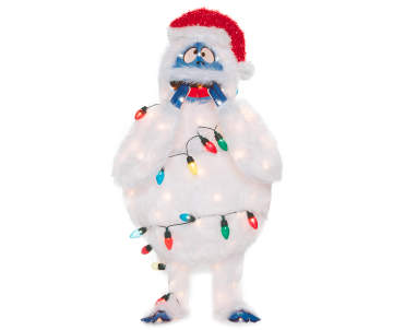 light up bumble the abominable snow monster 32 big lots