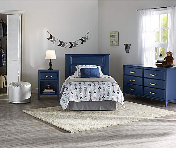 Little Seeds Sierra Ridge Mesa Blue Kids Bedroom Furniture
