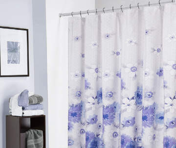 Non Combo Product Selling Price 80 Original List 800 Living Colors Liv Floral Microfiber Shower Curtain