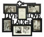 Live Laugh Love Key Picture Frame 6 Opening Collage silo front