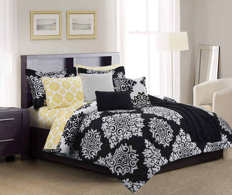 Living Colors Ava 12 Piece Comforter Sets Big Lots