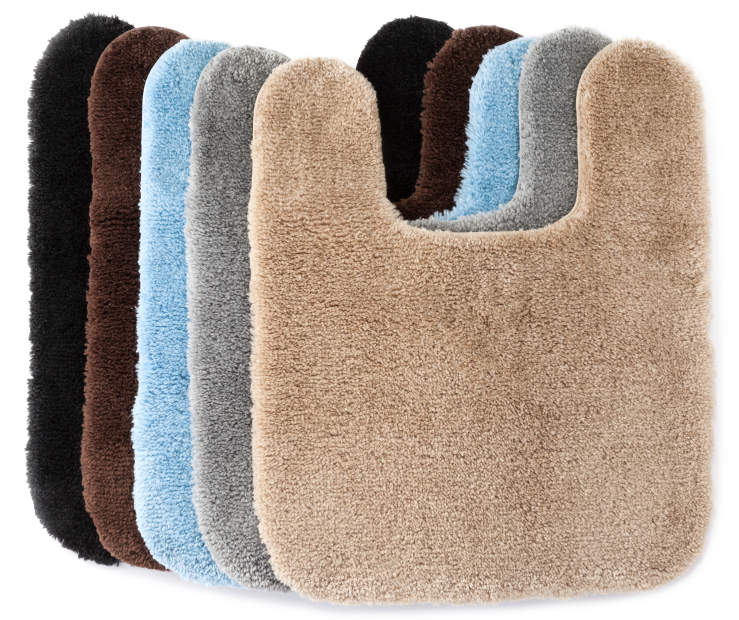 Stop Torturing Your Feet By Standing On Cold Hard Floors Living Colors Contour Rugs Allow You To Place Decorative Flooring Snugly Around A Toilet