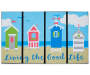 Living the Good Life Outdoor Doormat 18 inches x 30 inches silo front
