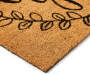 Love Grows Here Coir Outdoor Doormat Silo Angled Corner View