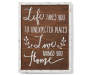 Love Home Box Plaque silo front