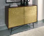 MAJACI BROWN ACCENT CABINET