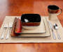 MASTER CUISINE RED/GOLD 16PC DINNERSET