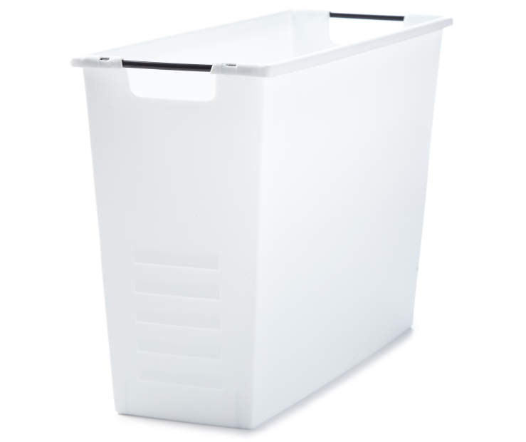 Magazine Storage Box White