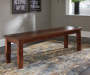 Manishore Brown Dining Bench lifestyle